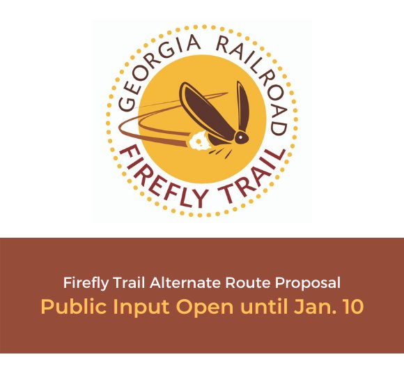 firefly trail logo - public input needed