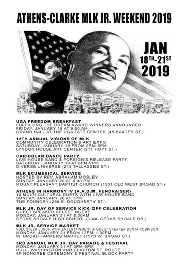 MLK Jr. Weekend Events
