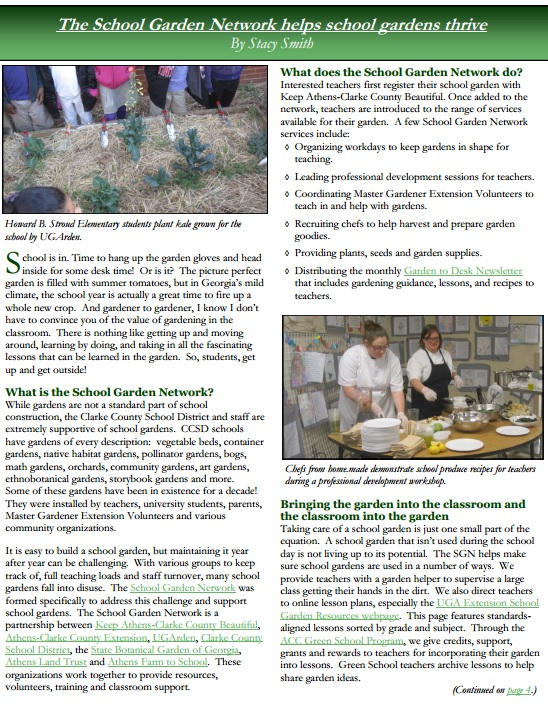 school garden network article shades of green sept 14