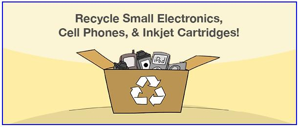 recycle small electronics