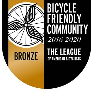 Bicycle Friendly Community Bronze Seal 2016