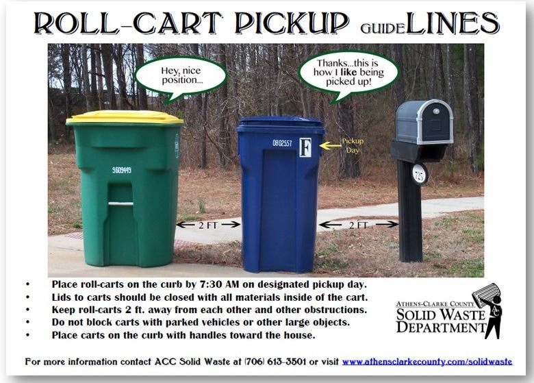 Roll Cart Pickup Guidelines