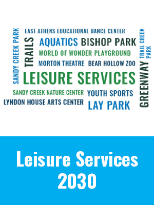 leisure services listens graphic - leisure services 2030 plan