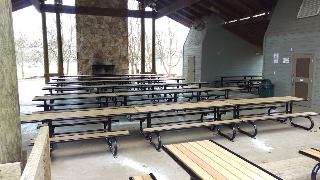 Project 14 - Picnic Tables at Sandy Creek Park