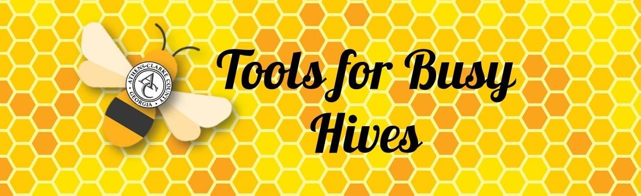 tools for busy hives