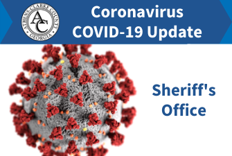 Sheriff's Office Coronavirus updates