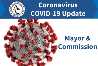 Coronavirus COVID-19 Update - Mayor & Commission