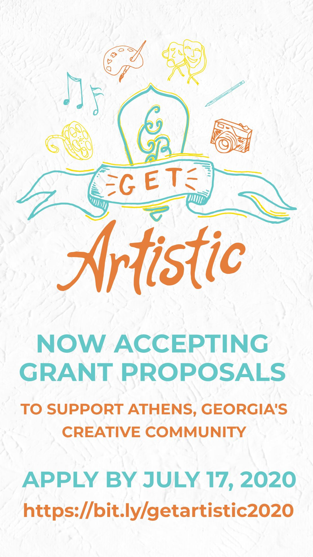 GetArtistic2020-grants-graphic