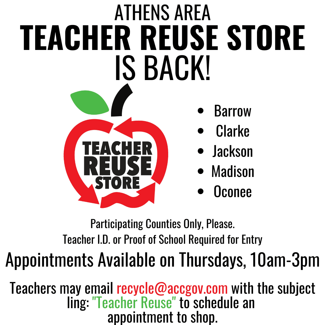 Teacher Reuse Store Reopen