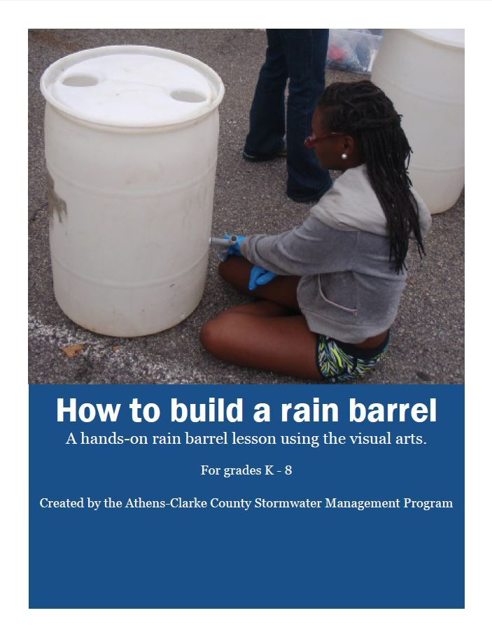 rain barrel cover sheet