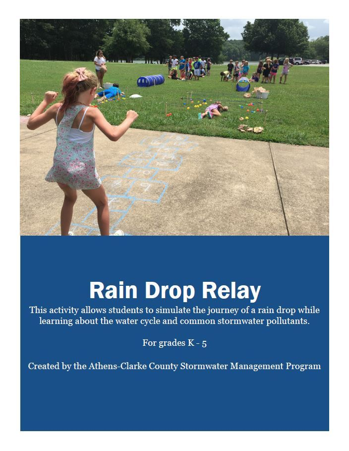 rain drop relay cover sheet