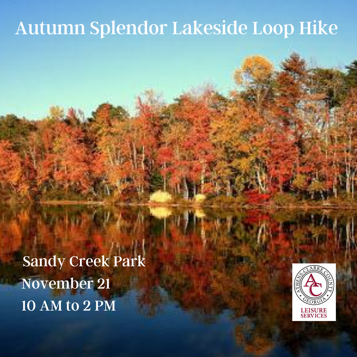 4 x4 Autumn Splendor Lakeside Loop Hike