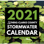 2021 Stormwater Calendar Cover