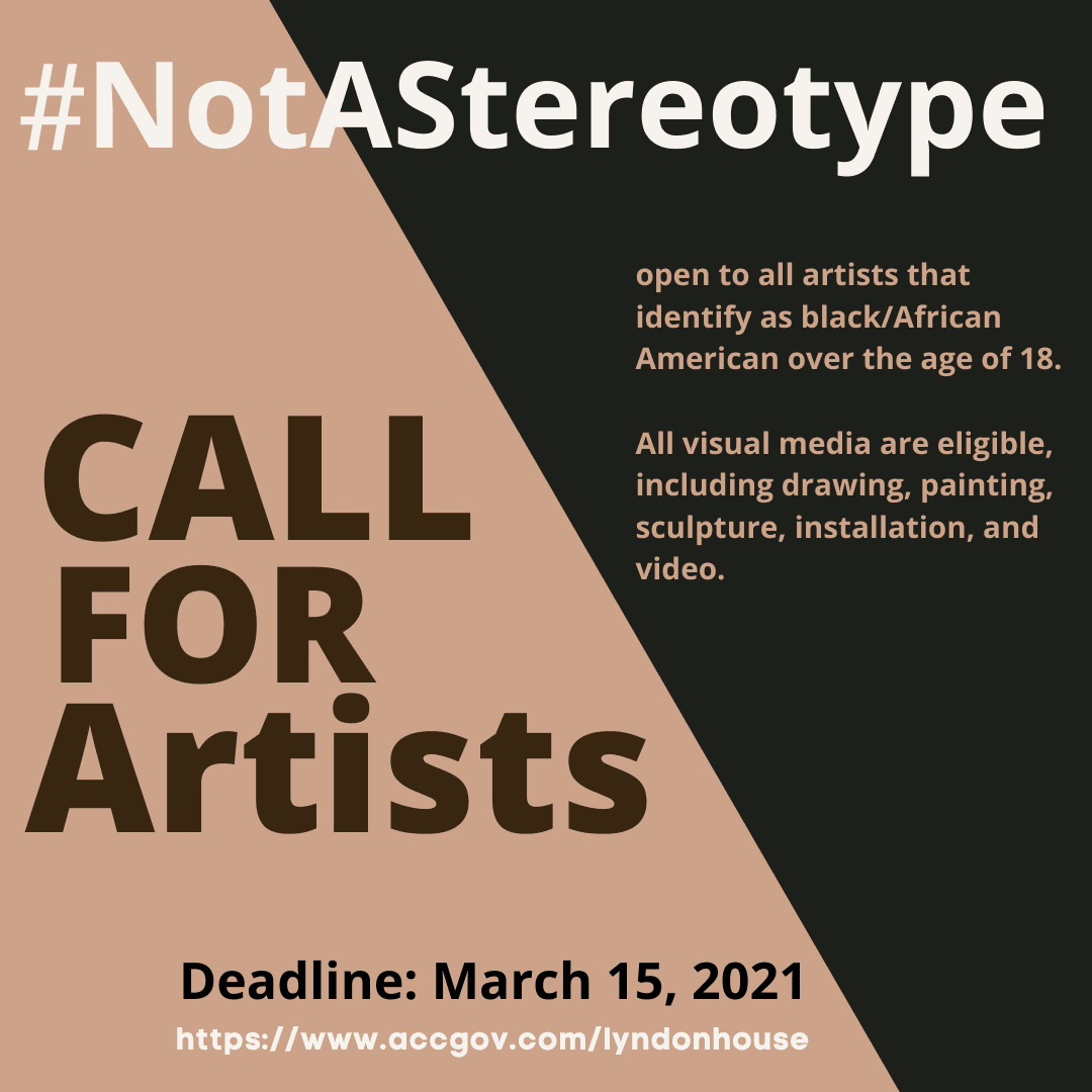 NotAStereotype Call for Art
