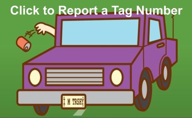 Report a Tag Number