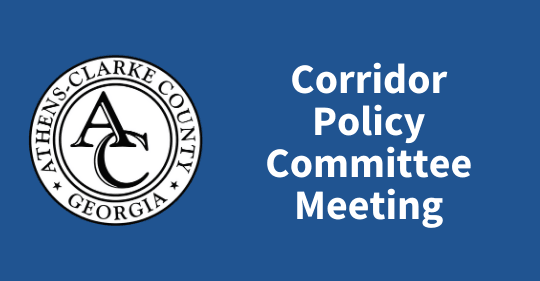 Corridor Policy Committee Meeting