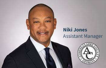 Niki Jones Appointed ACCGov Assistant Manager