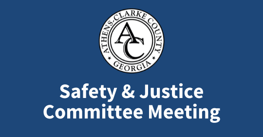 Safety and Justice Committee Meeting
