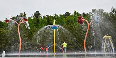 Trail Creek Park Splash Pad