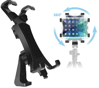 IPOW 360 Degree iPad tripod mount adapter