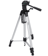 lighweight camera mount tripod stand with bag Opens in new window