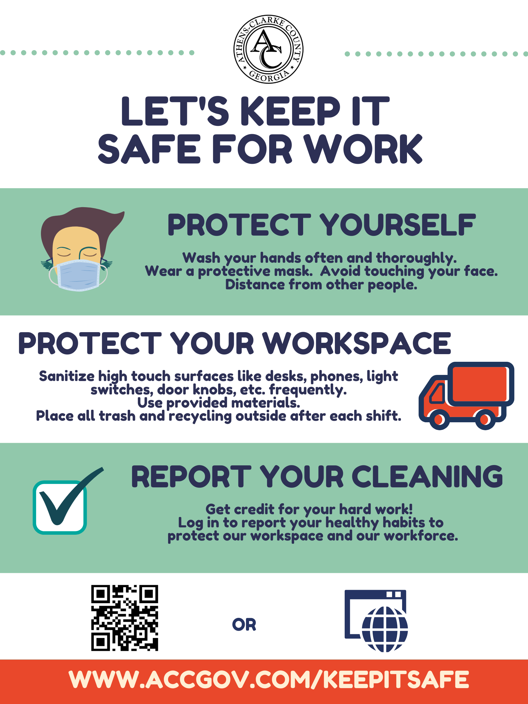 Keep It Safe - Vehicle Poster