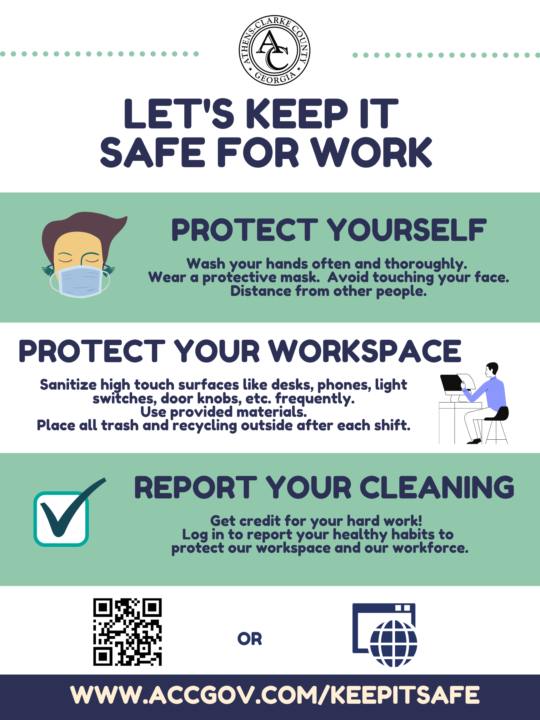 Keep It Safe - Building Poster