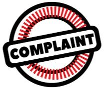 complaint Opens in new window