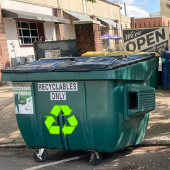 Downtown Business Recycling