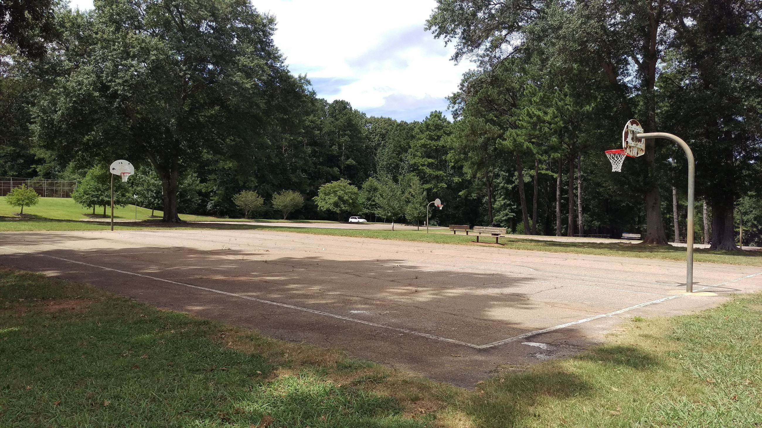 Photo of Basketball Court 1 at Sandy Creek Park.