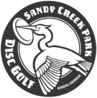 Logo for Sandy Creek Park's Disc Golf Course.